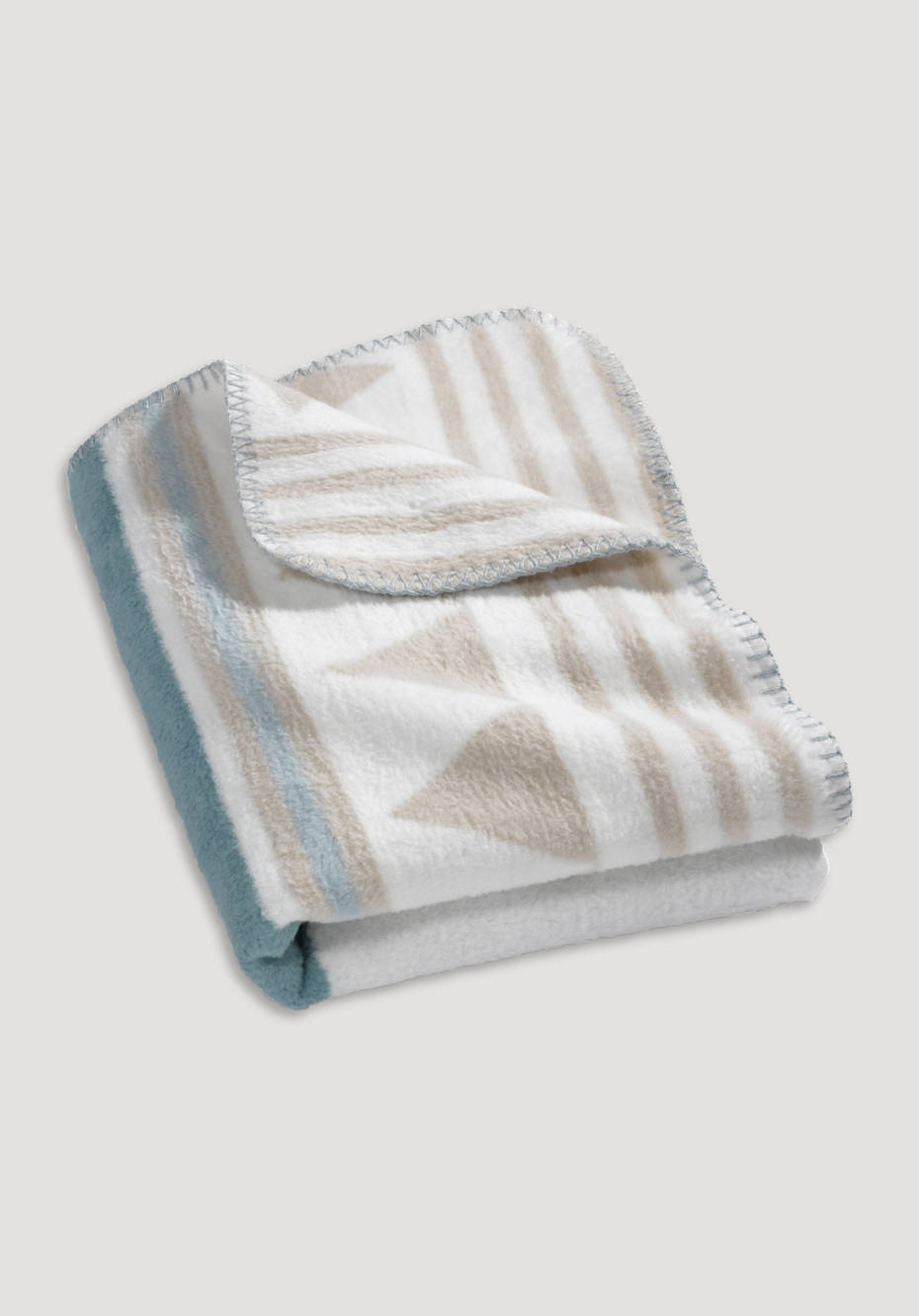 Pure organic cotton blanket