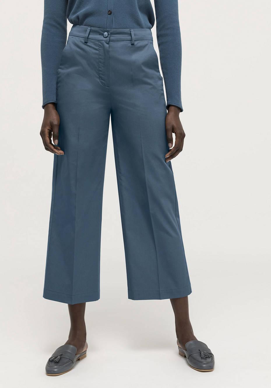Pure organic cotton culottes