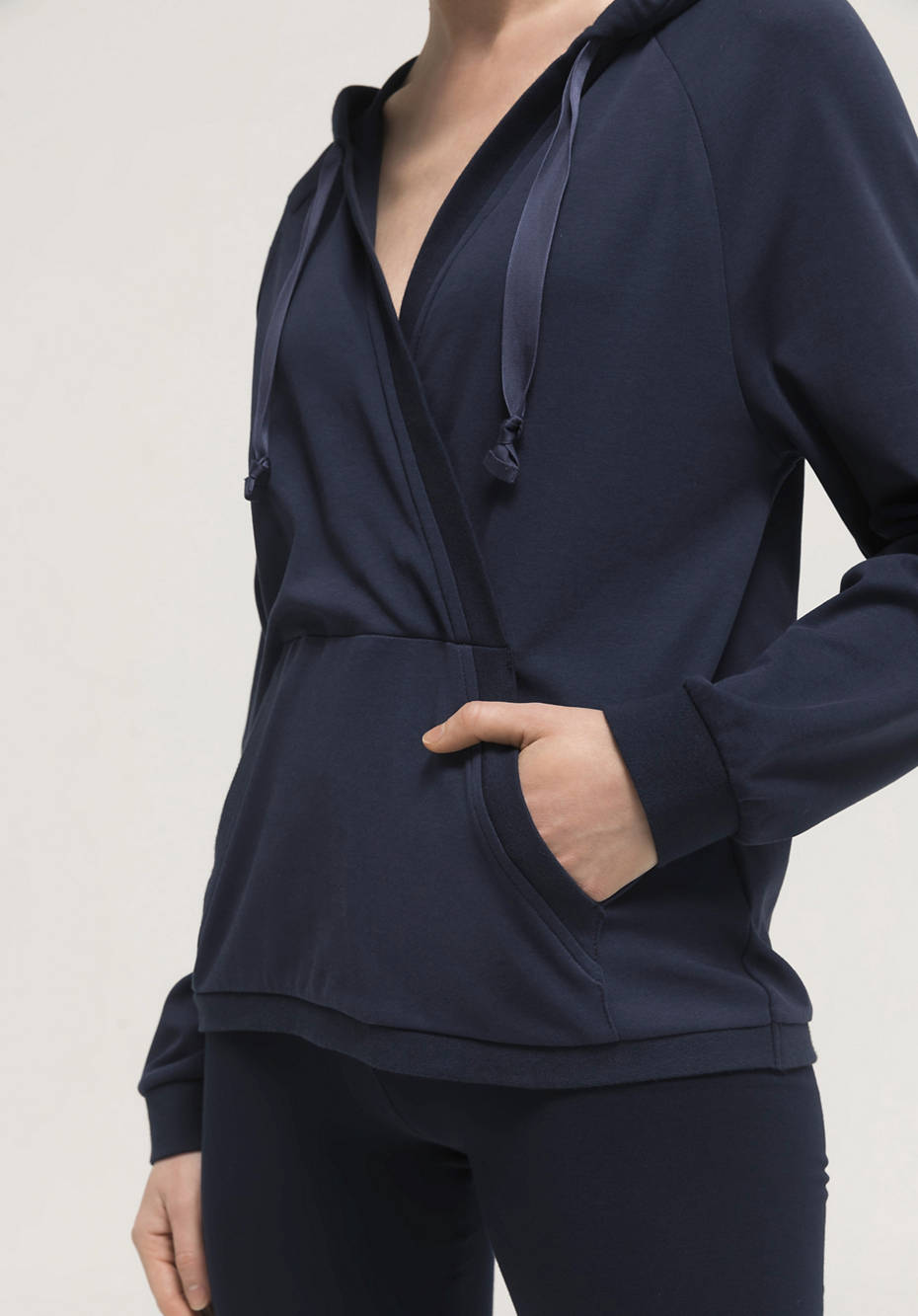 Pure organic cotton hoodie