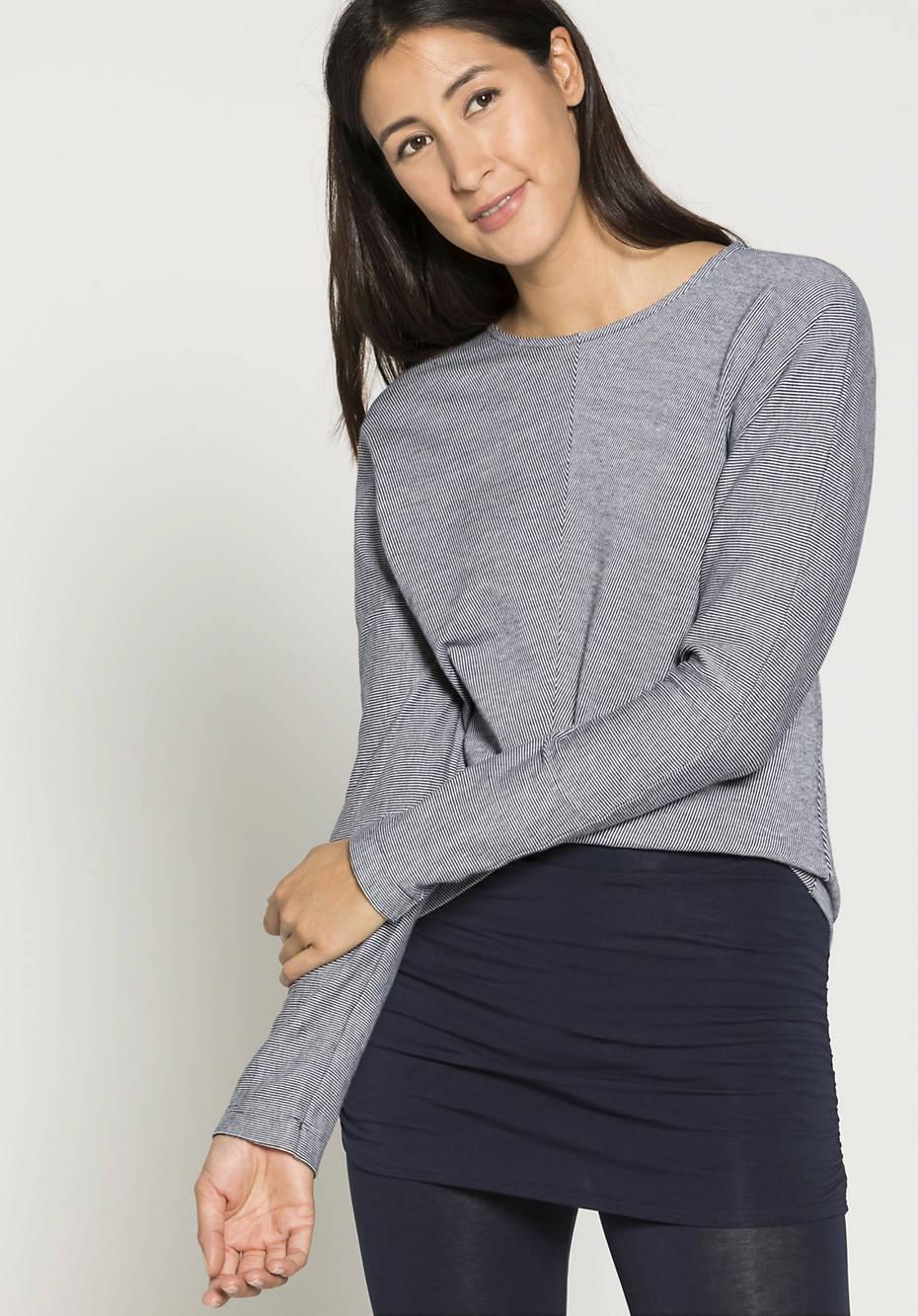 Pure organic cotton sweatshirt