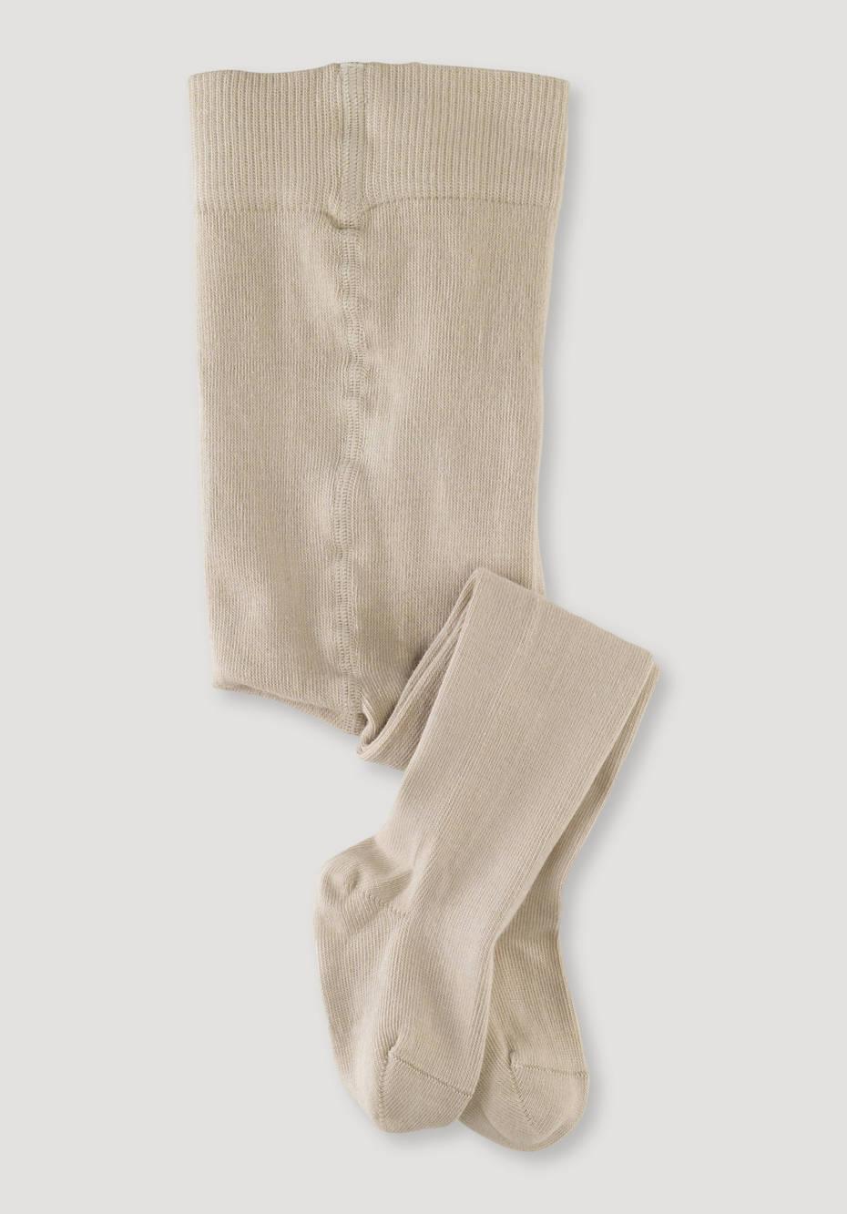 Pure organic cotton tights