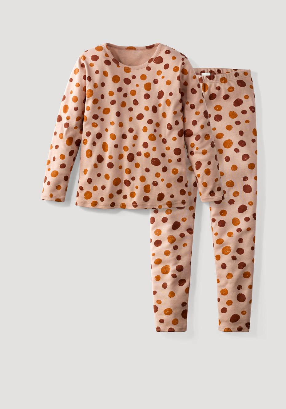 Pyjama aus reiner Bio-Baumwolle