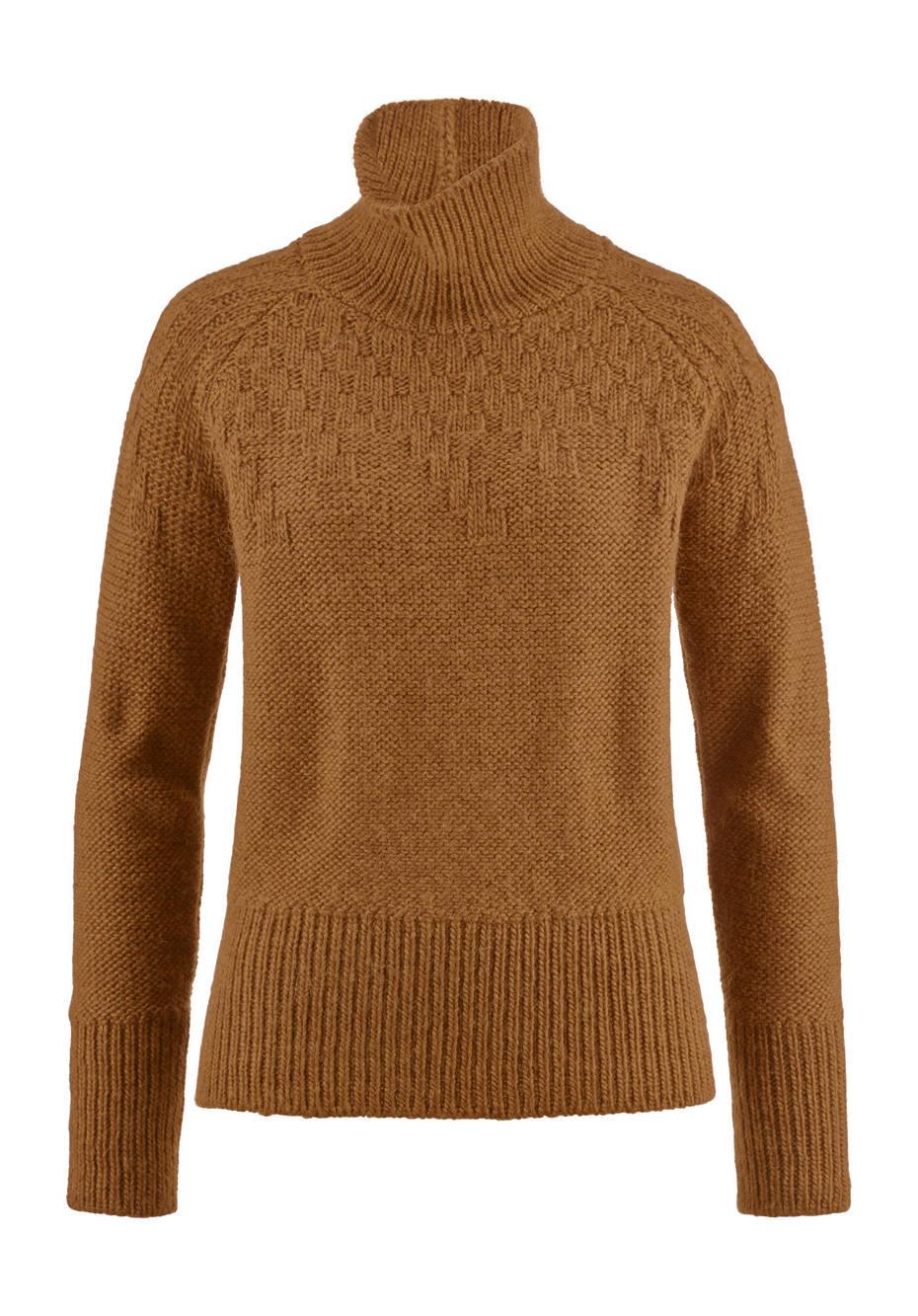 Raglan-Pullover aus Alpaka und Schurwolle