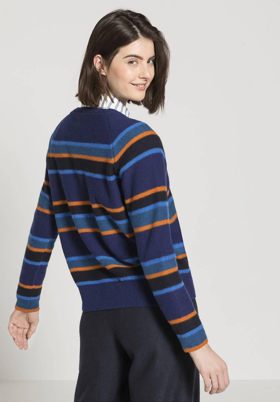 Raglan-Pullover aus reiner Lambswool