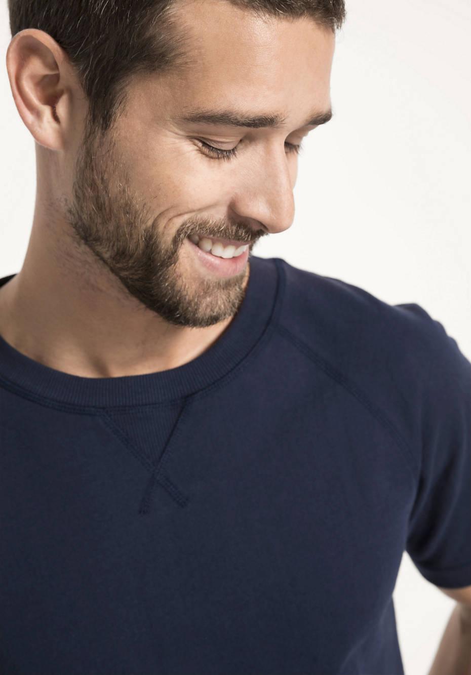 Raglan-Shirt aus Bio-Baumwolle mit Kapok