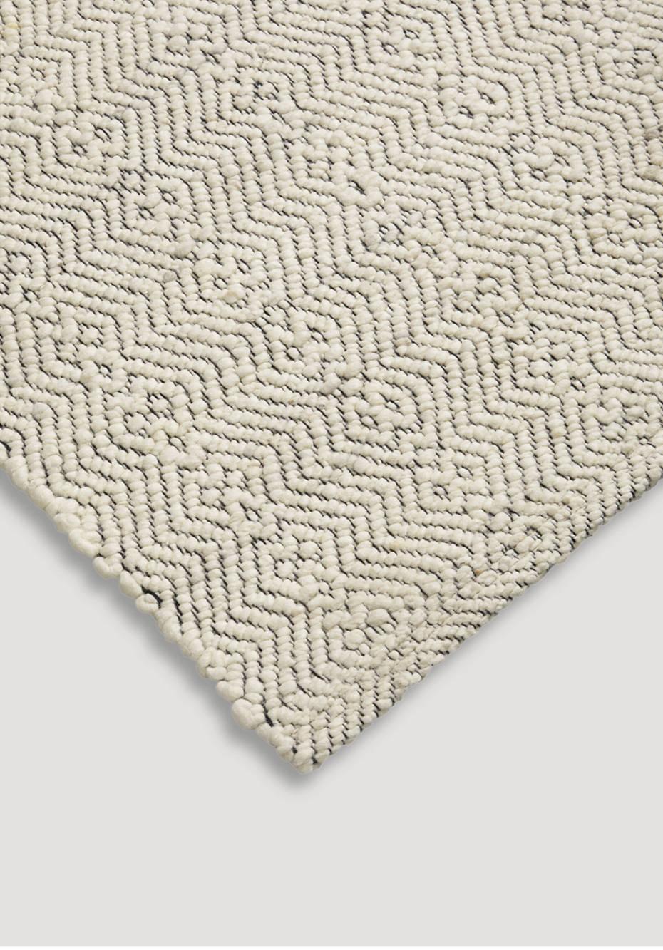 Remsa virgin wool carpet from the dyke sheep