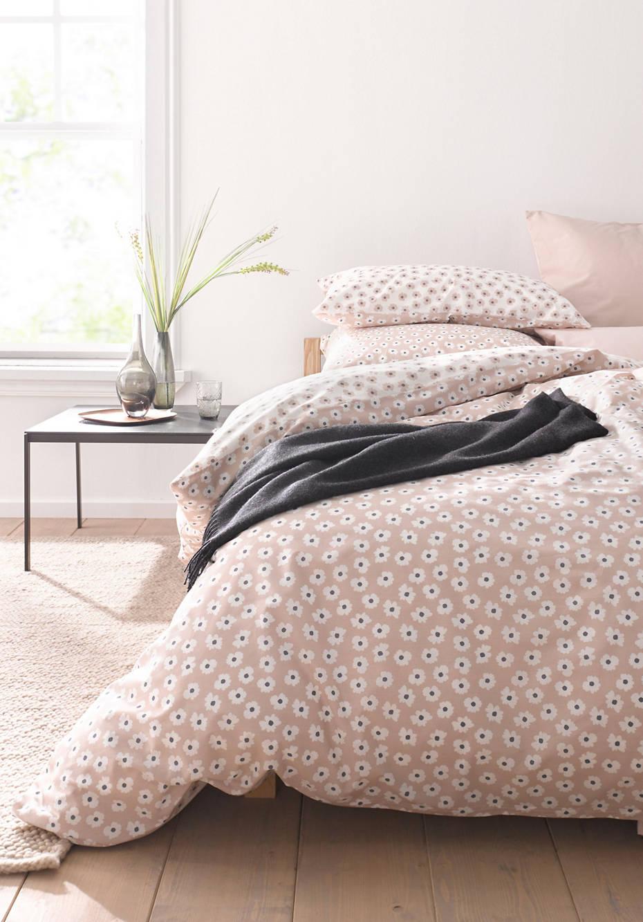 Renforcé-Bettwäsche Millefleurs aus reiner Bio-Baumwolle