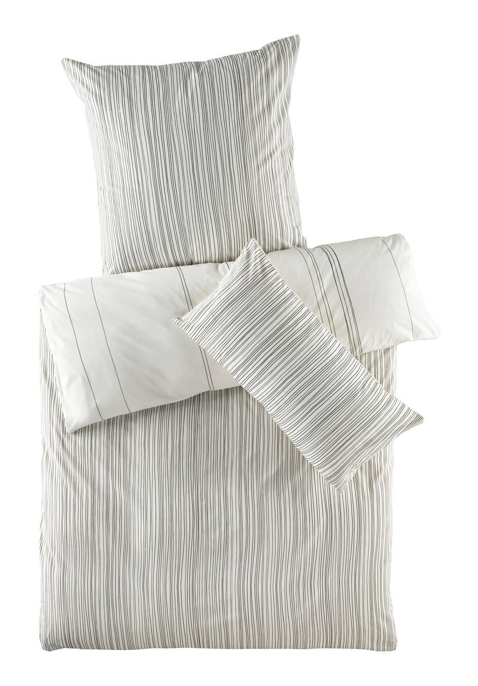 Renforcé-Wendebettwäsche Kokon aus reiner Bio-Baumwolle