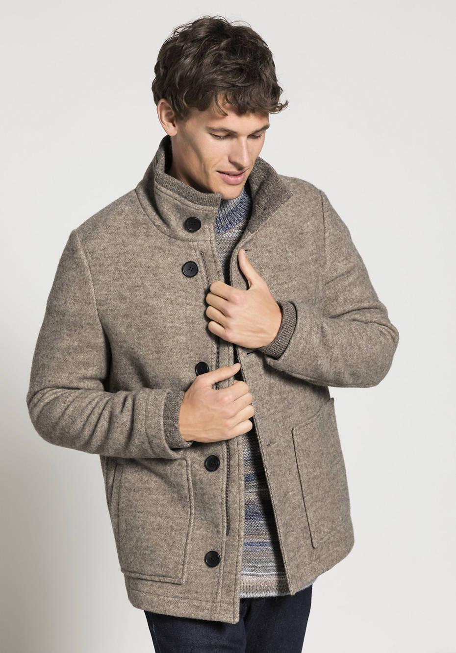 Rhön-Wolljacke aus reiner Schurwolle