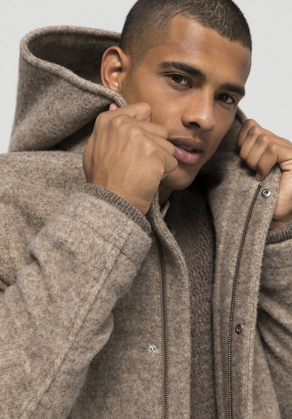 Rhön coat Limited by Nature made of pure new wool