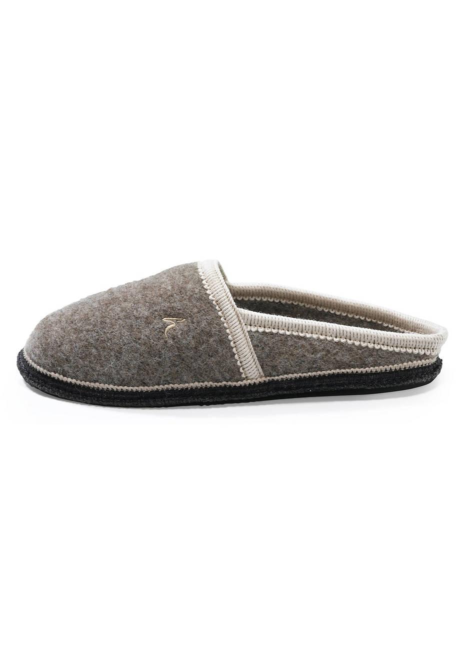 Rhön sheep felt slippers