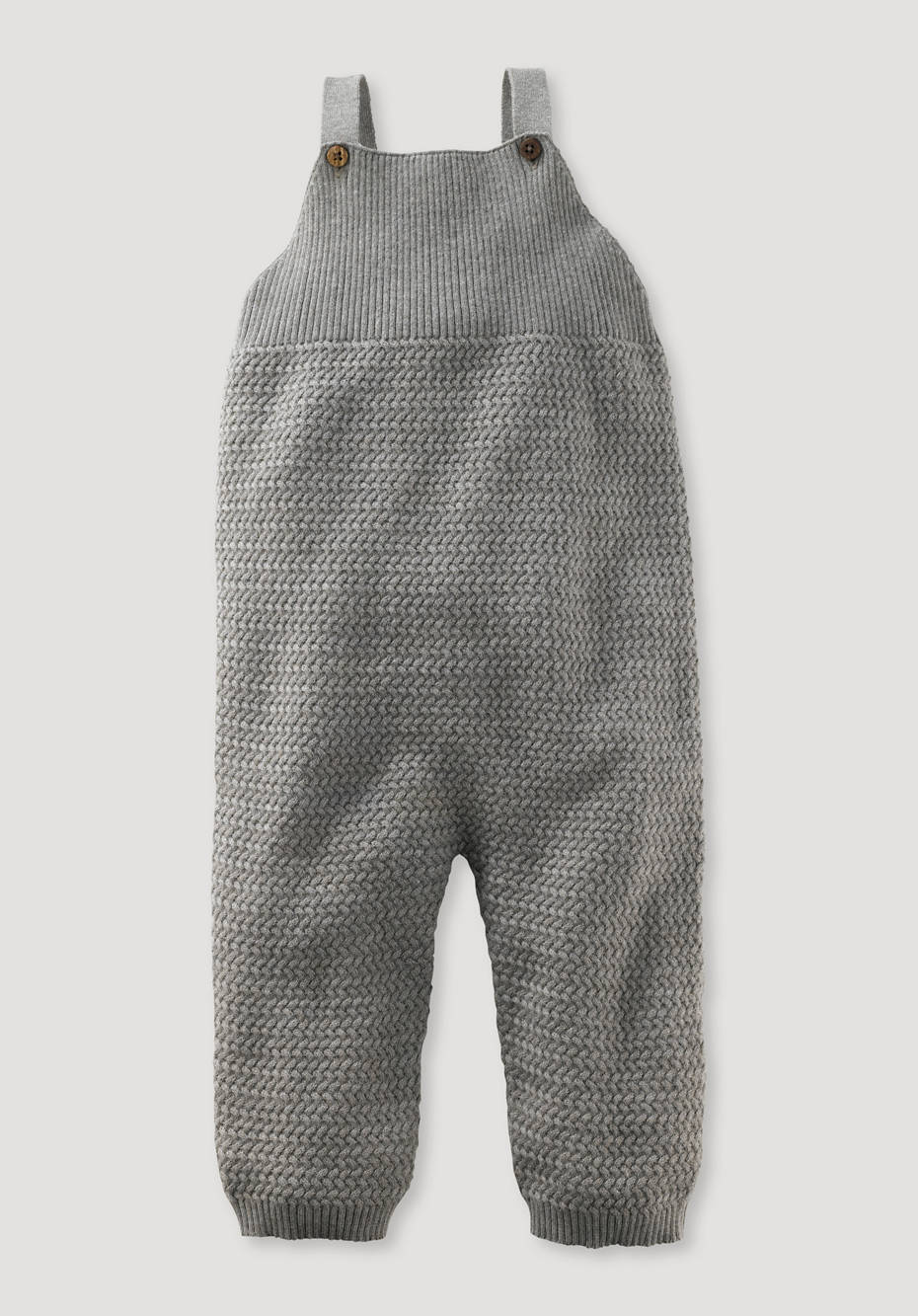 Romper made of organic cotton with cashmere