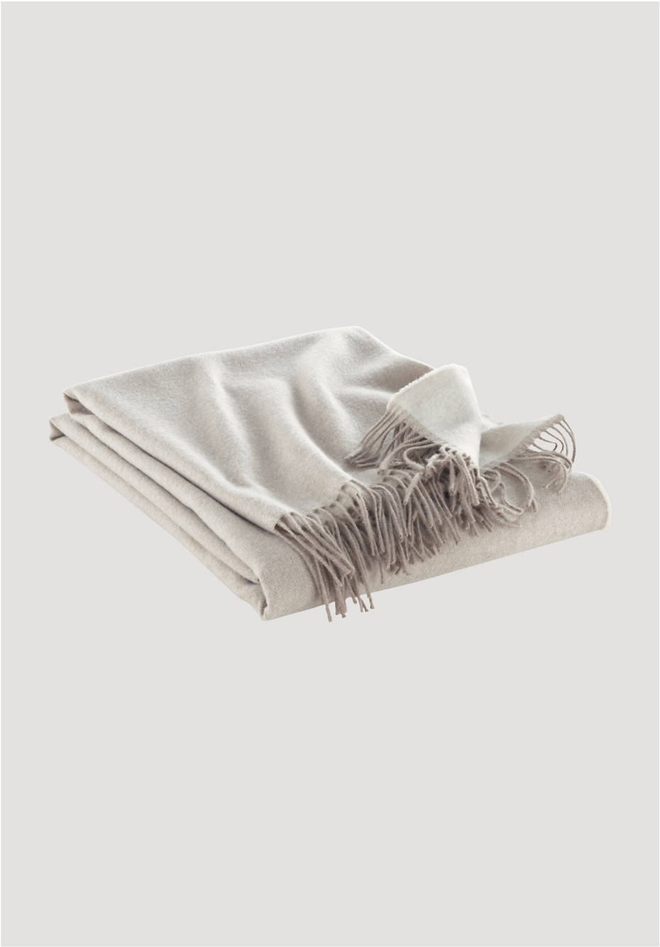 Saas Fee blanket made of cashmere and merino wool