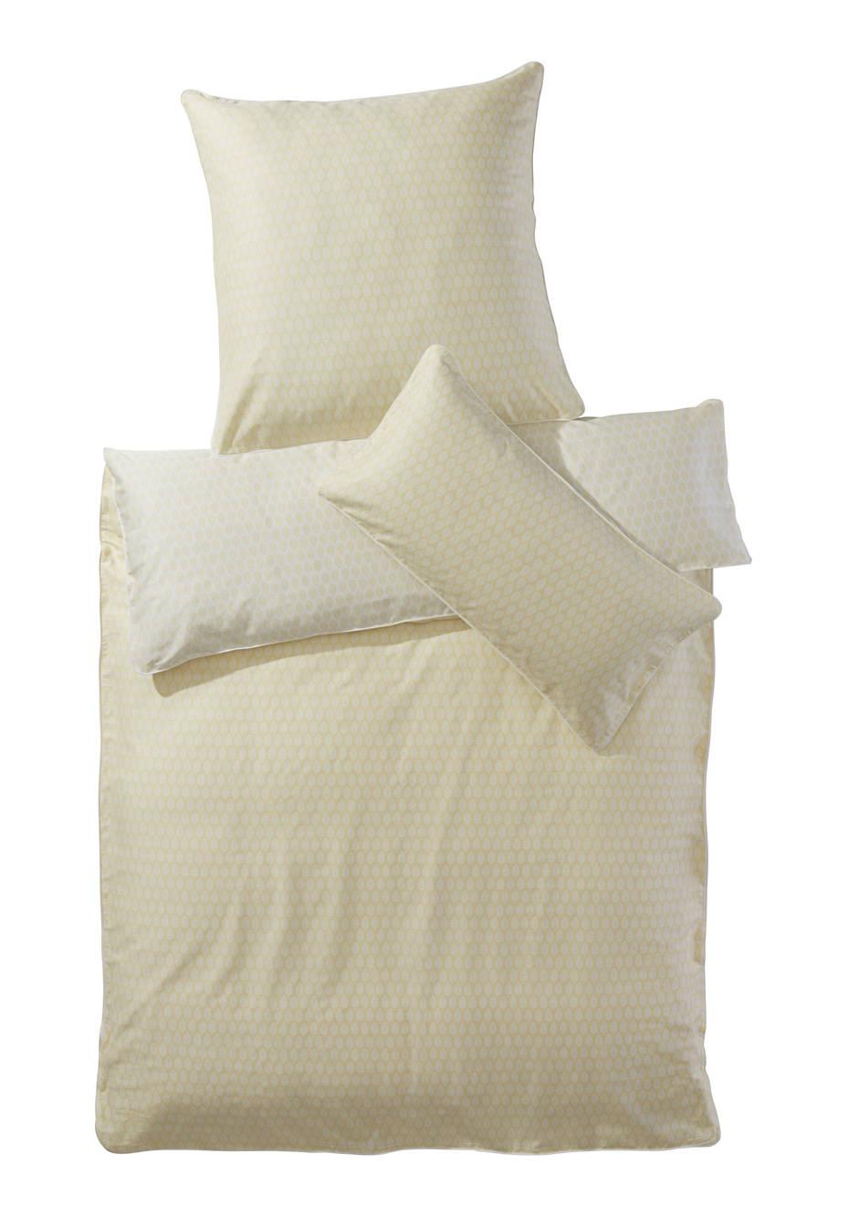 Satin-Bettwäsche Kallima aus reiner Bio-Baumwolle
