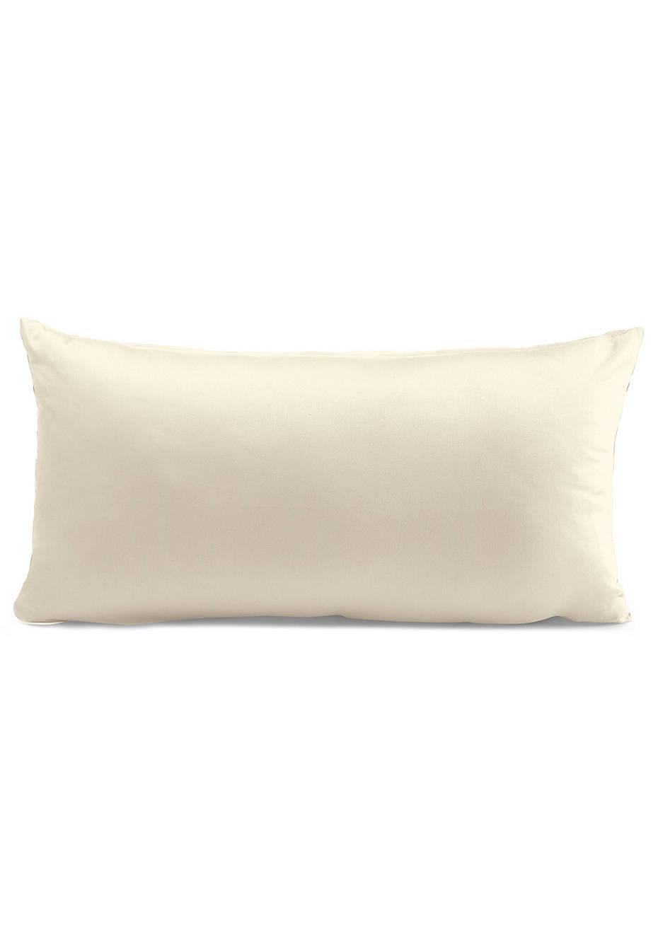 Satin-Kissenbezug aus reiner Bio-Baumwolle