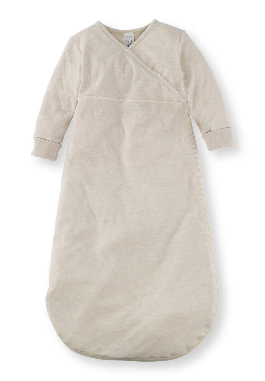 Schlafsack aus Bio-Baumwolle mit Schurwolle