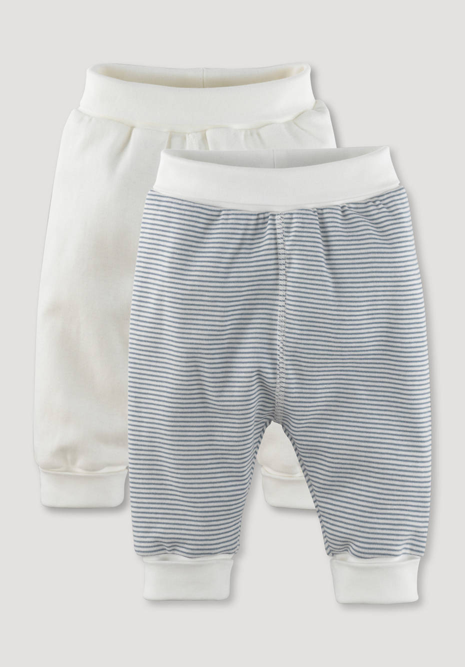 Set of 2 pants made of pure organic cotton
