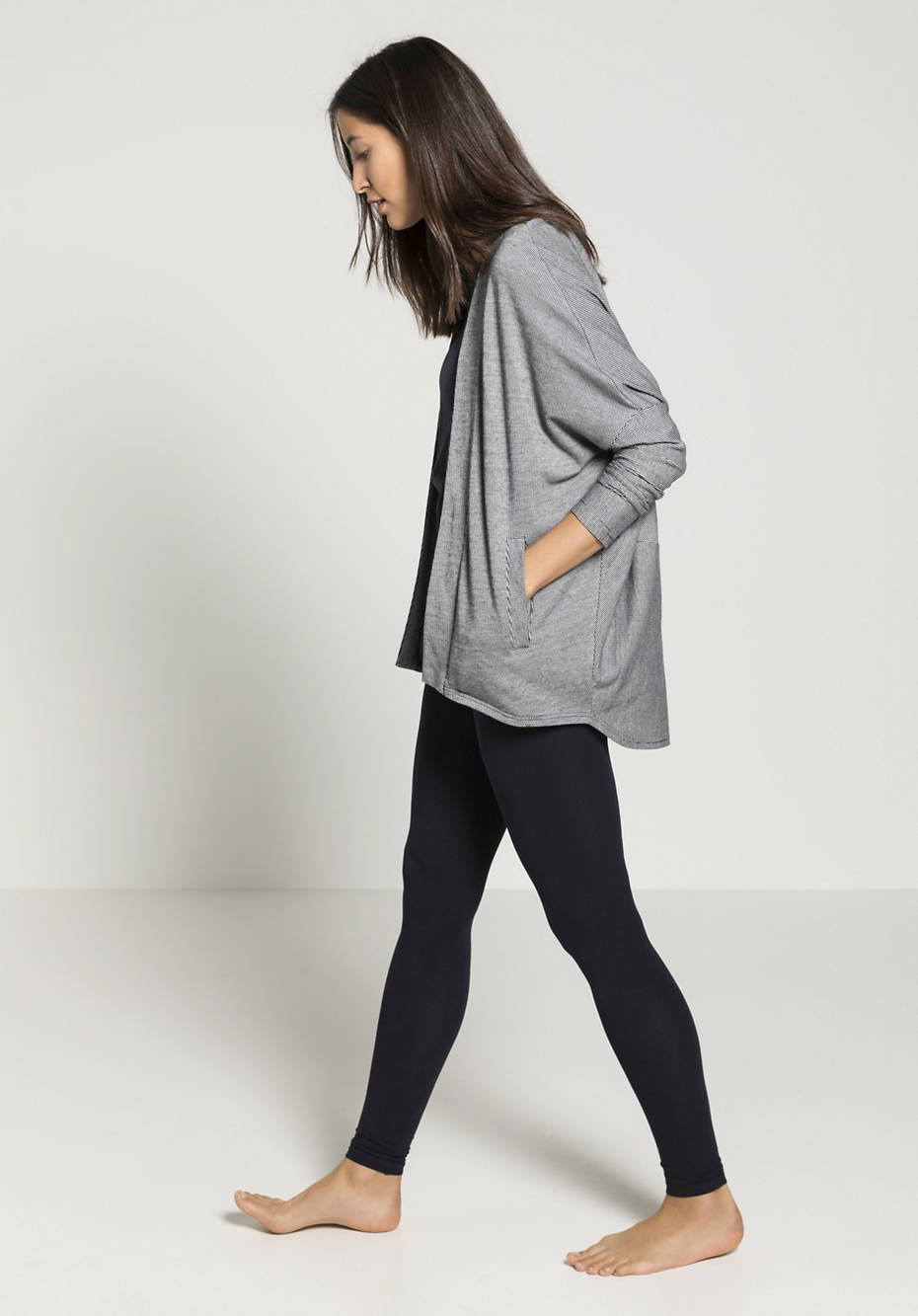 Shirt-Jacke aus reiner Bio-Baumwolle