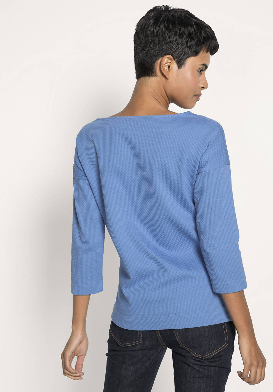 Shirt aus Baumwolle