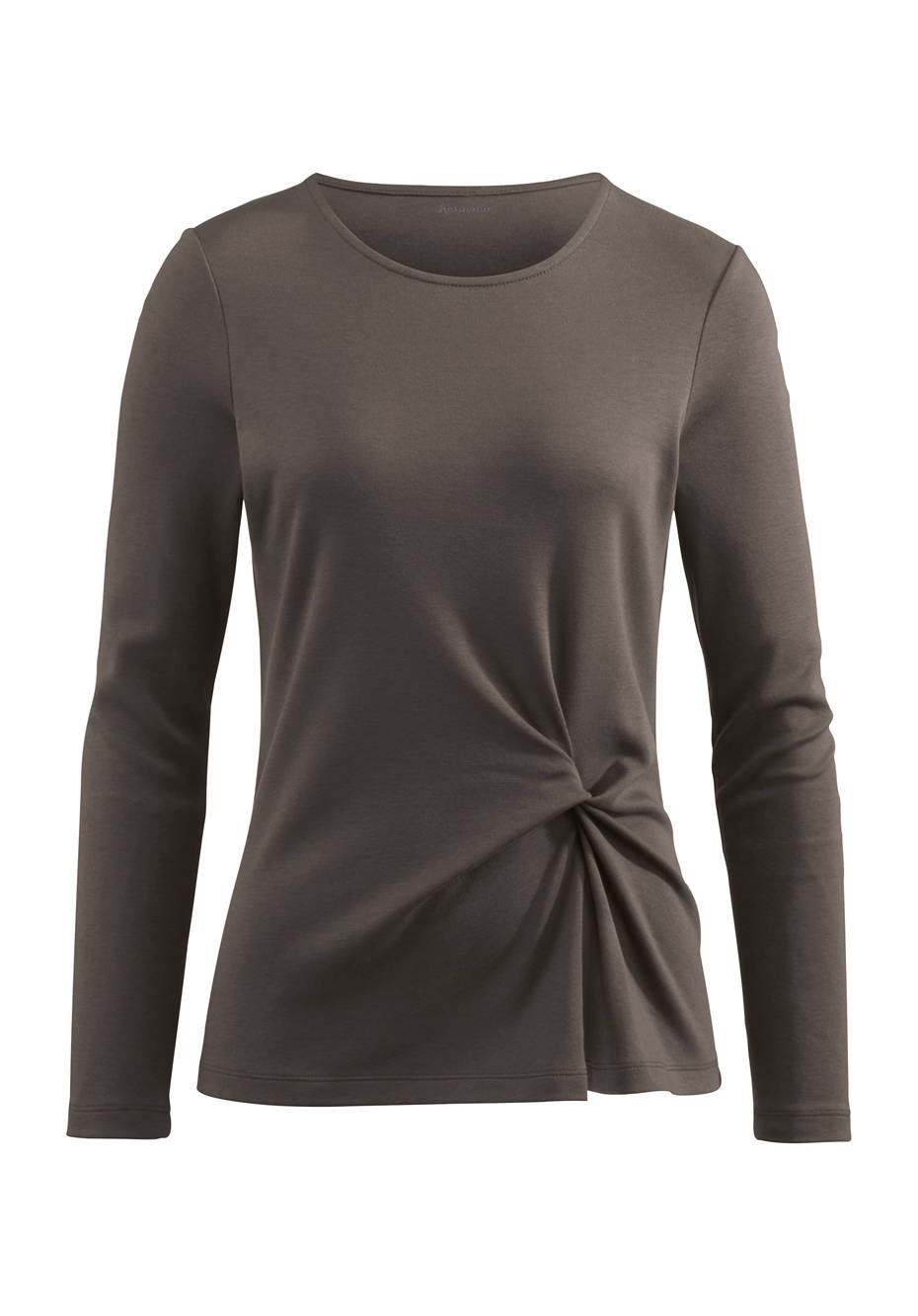 Shirt aus Baumwolle und Modal