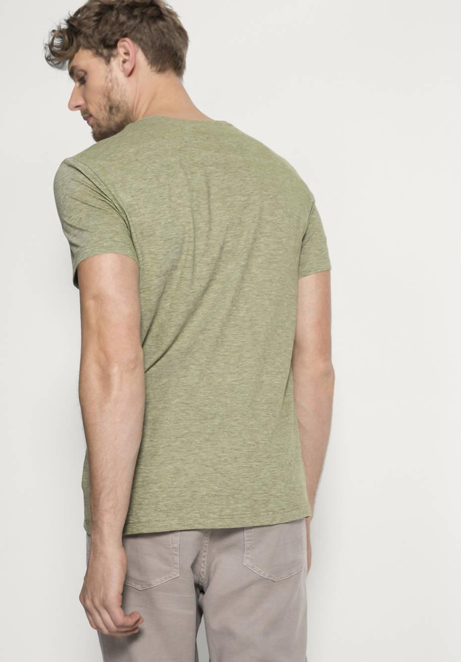 Shirt aus Bio-Baumwolle mit Hanf und Yak from Hessnatur