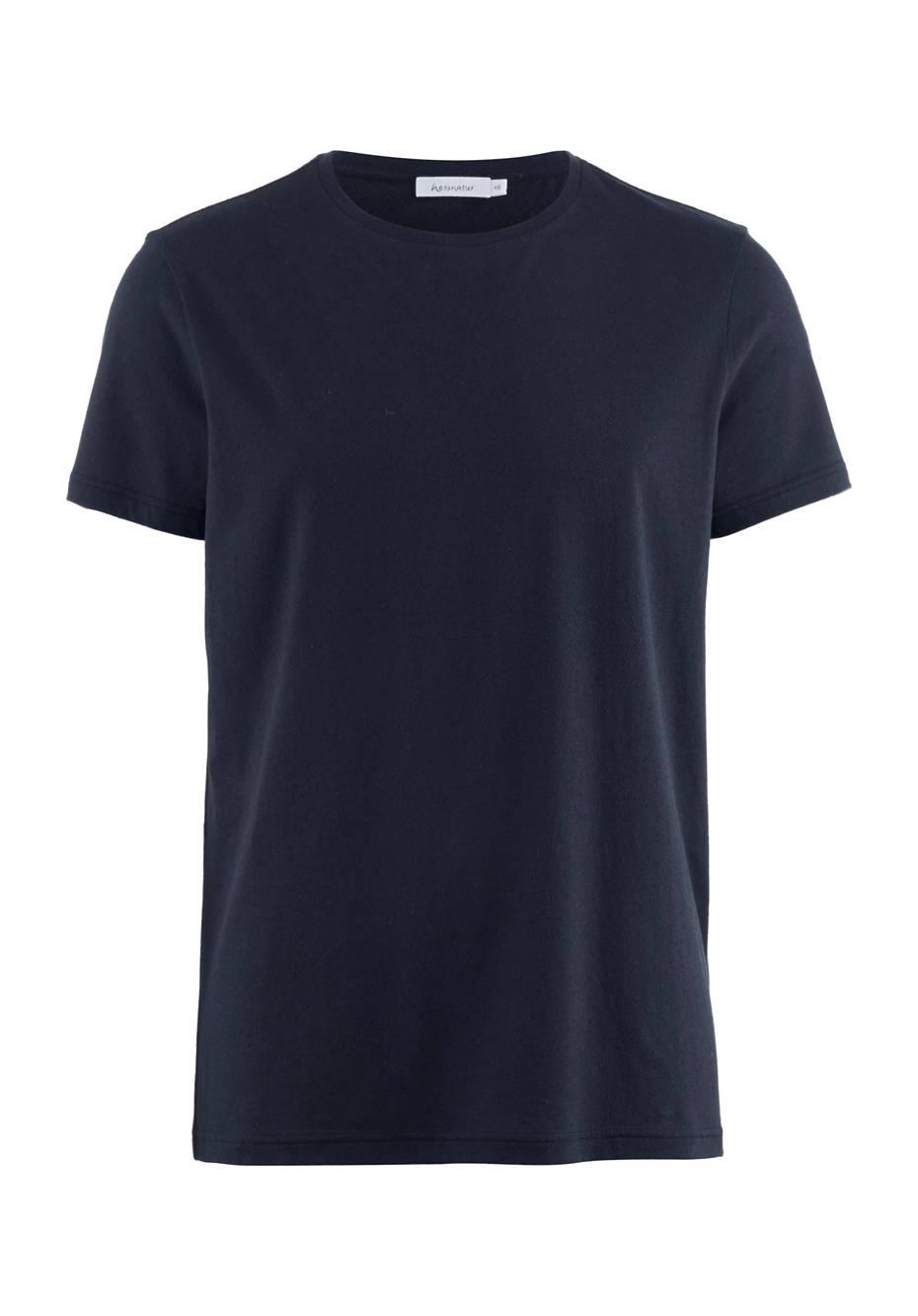 Shirt aus Bio-Baumwolle mit Seide