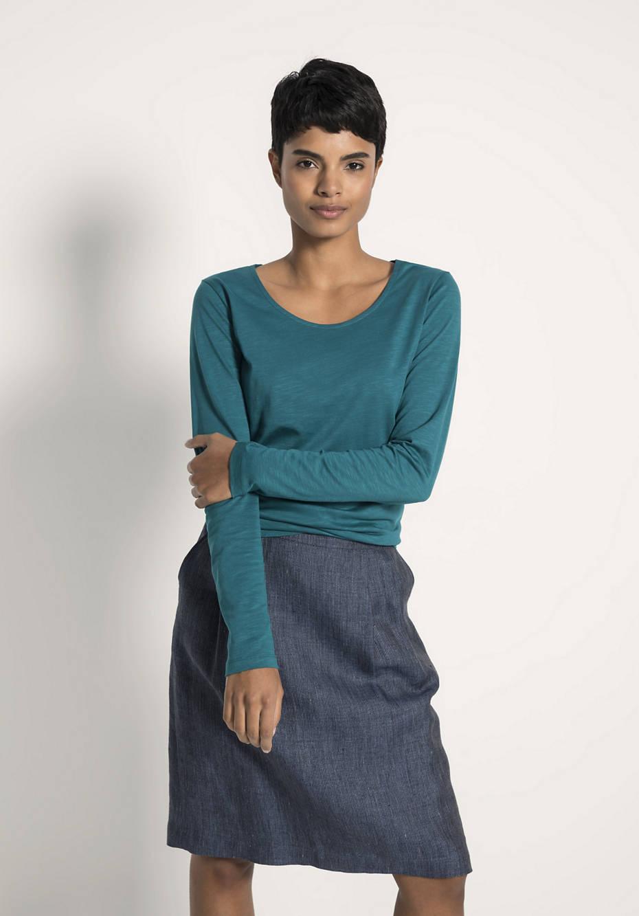Shirt aus Bio-Baumwolle und Modal