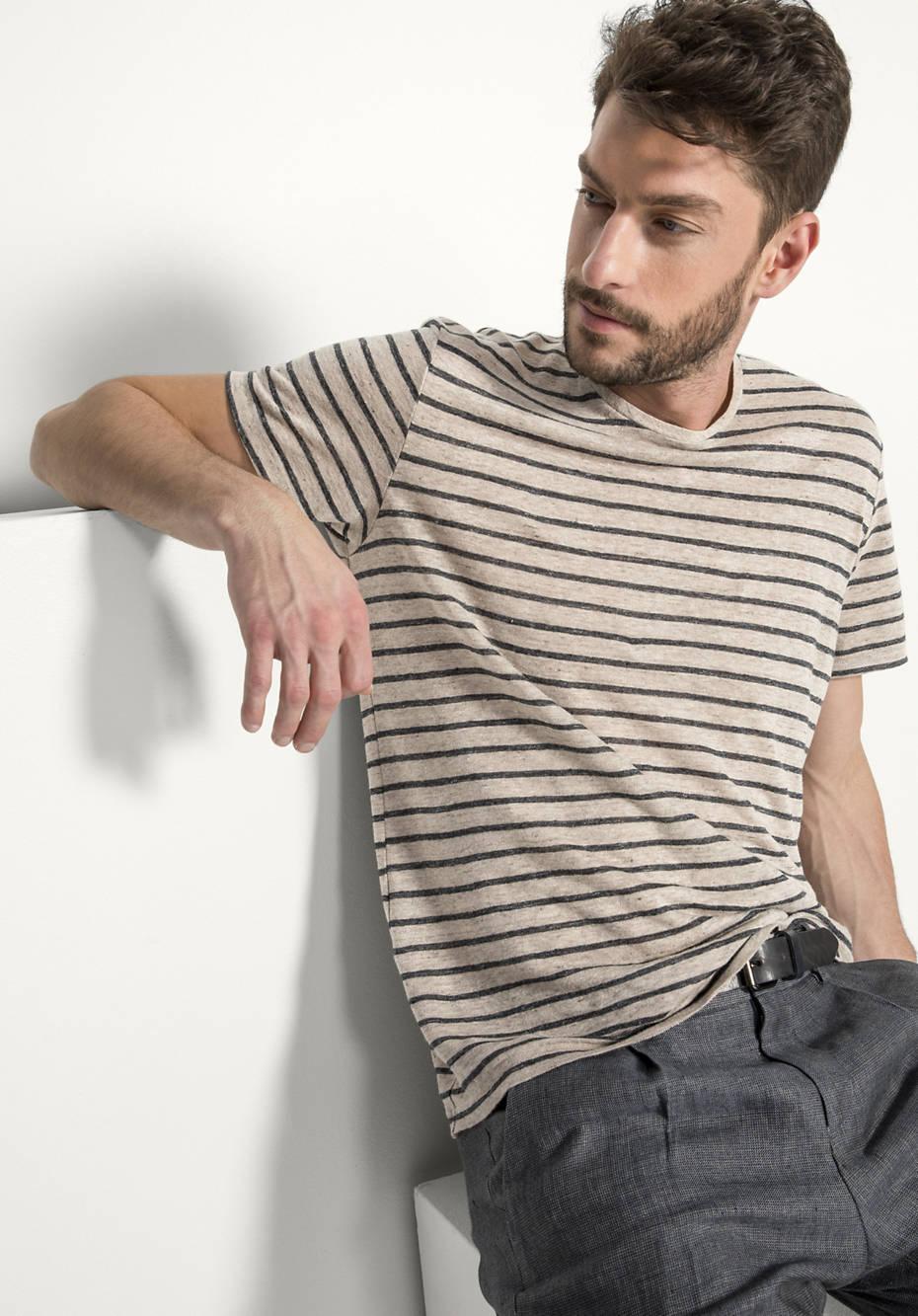Shirt aus reinem Leinen from Hessnatur