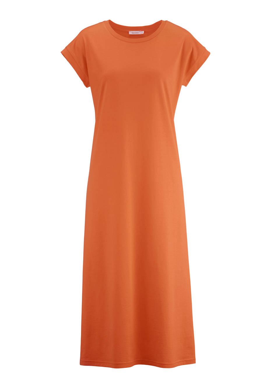 Shirt dress made from pure organic cotton