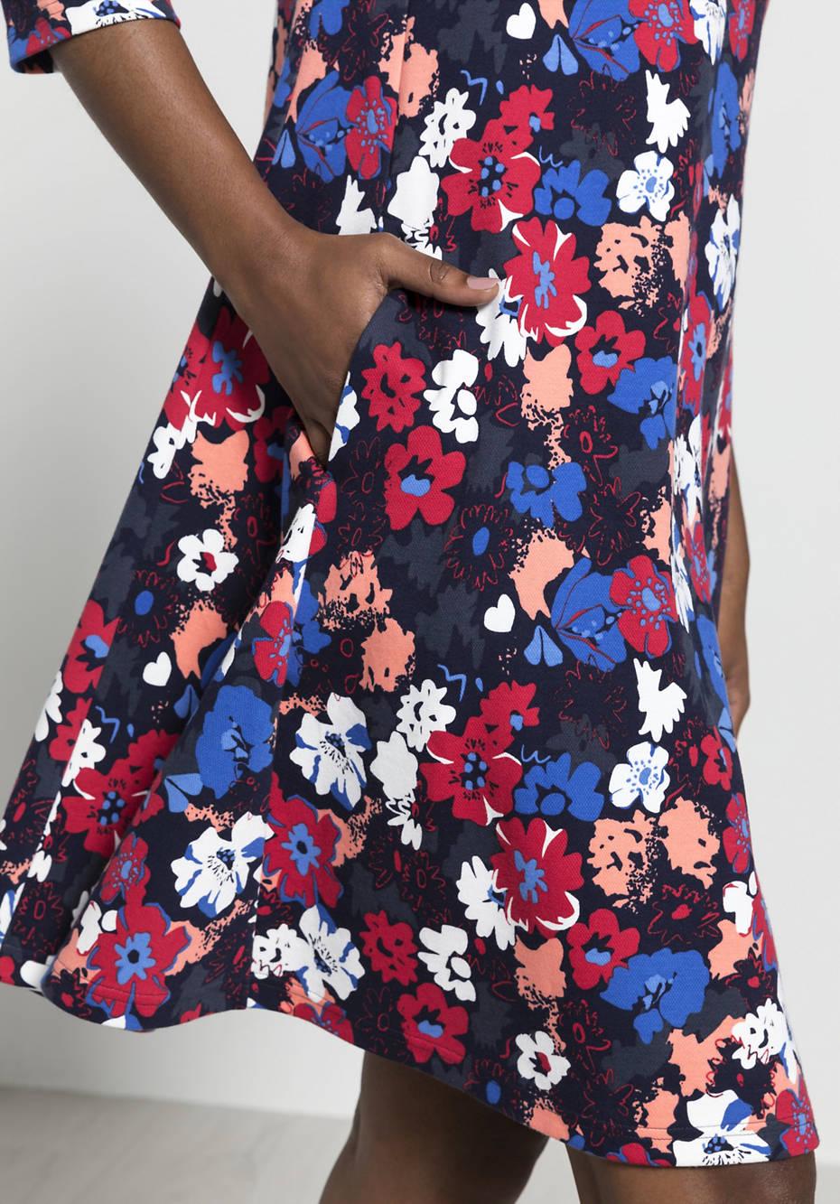 Shirt dress made of organic cotton