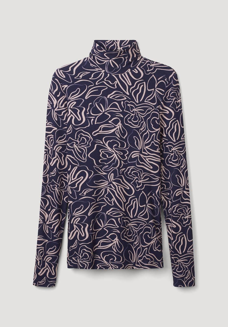 Shirt made of Tencel ™ Modal with virgin wool