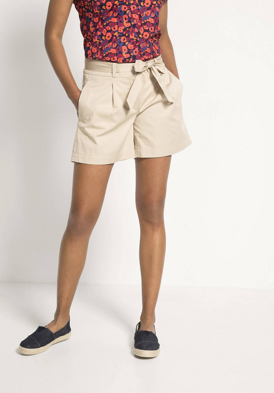 Short pants made of pure organic cotton