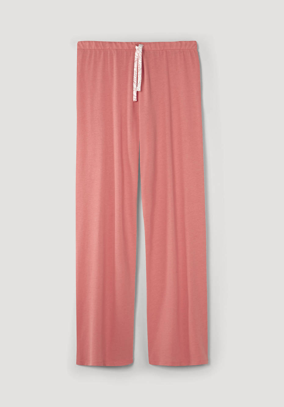 Sleep trousers made of organic cotton with silk