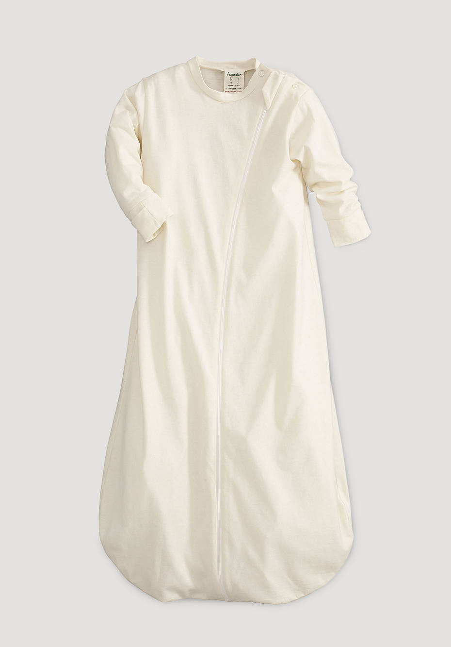 Sleeping bag made from pure organic cotton
