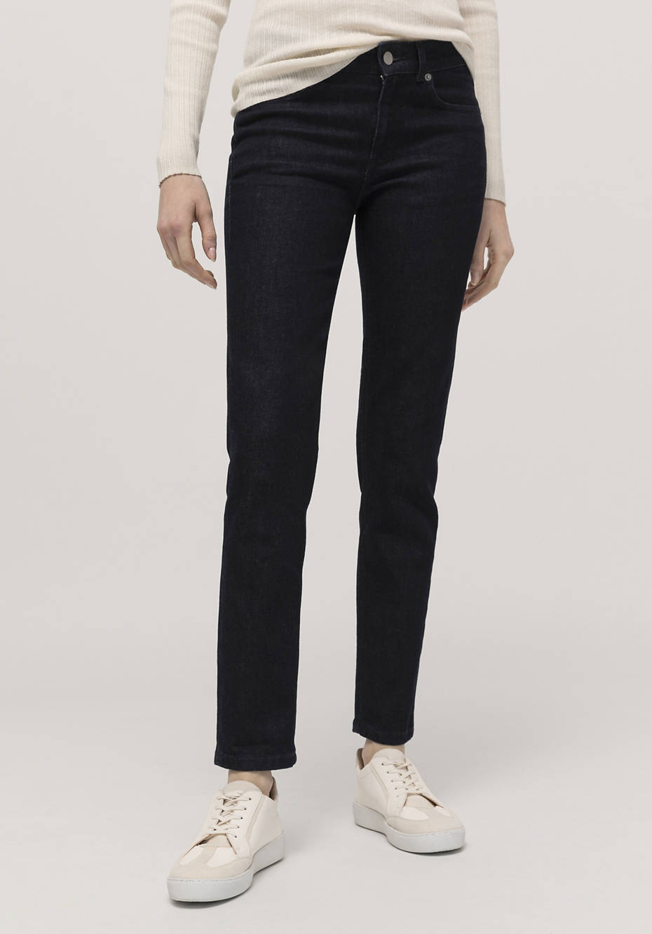 Slim fit jeans made of organic wool denim