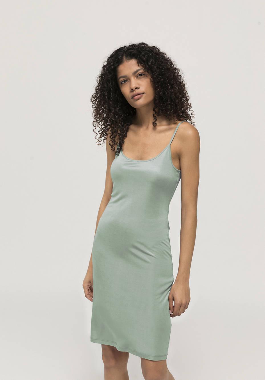 Slip made from pure organic silk