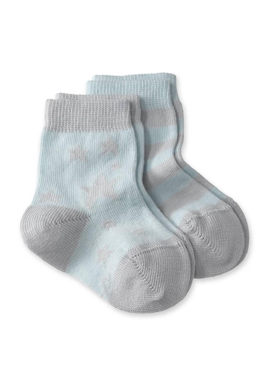 Socke im 2er-Pack aus Bio-Baumwolle