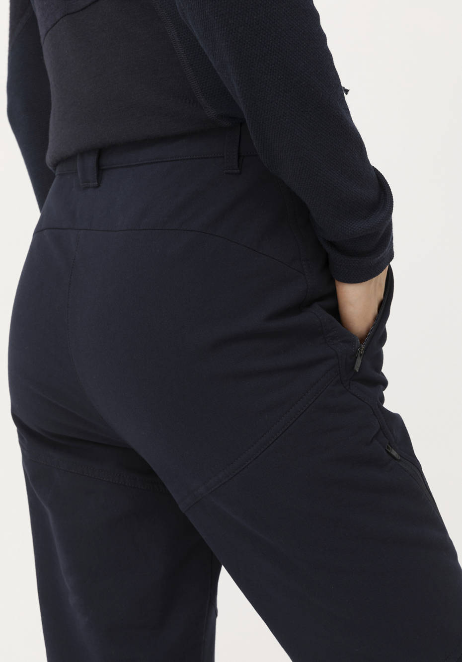 Softshell-Hose Slim Fit aus Bio-Baumwolle