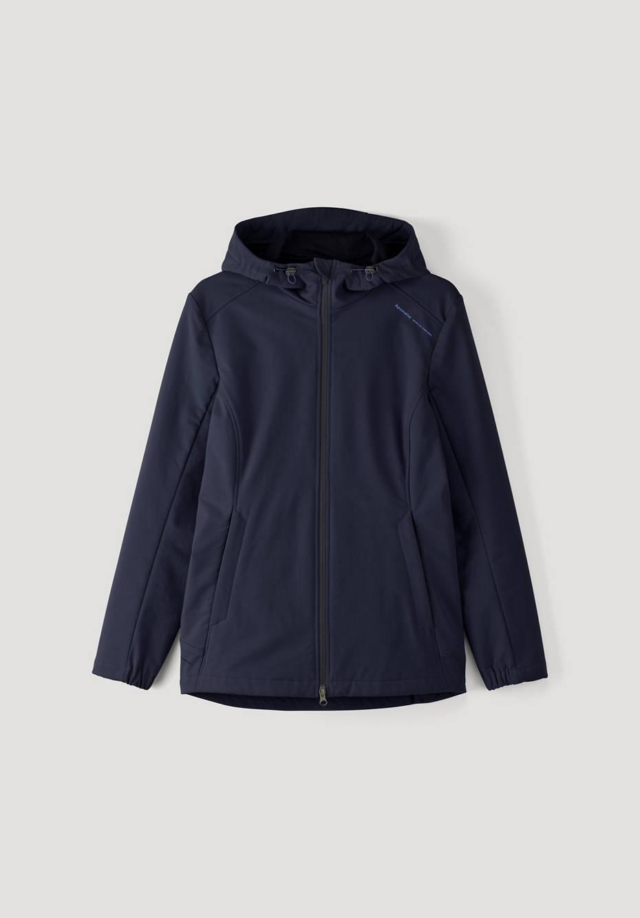 Softshell-Jacke aus Bio-Baumwolle