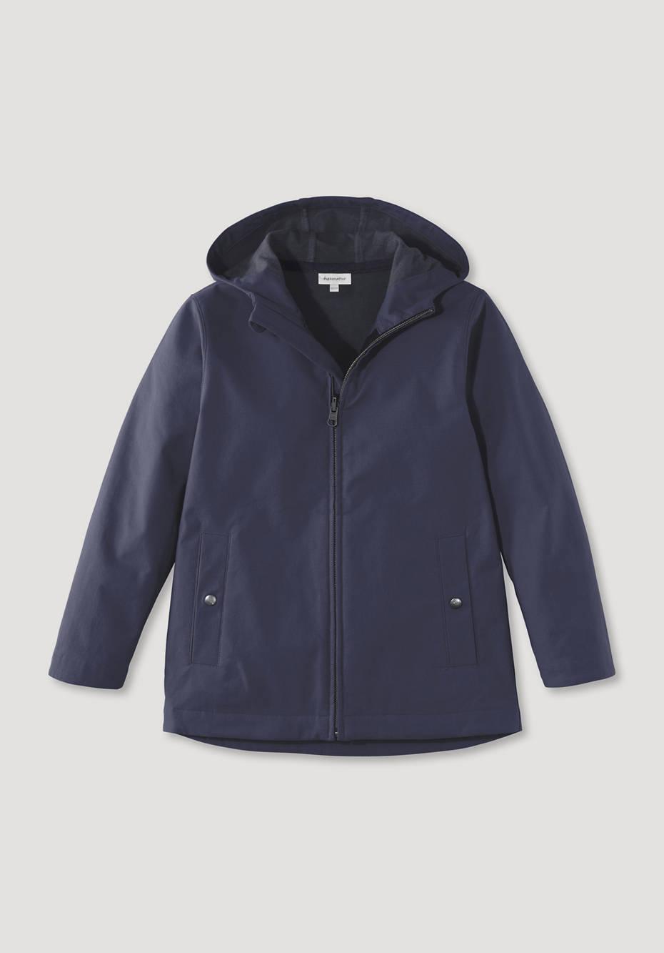 Softshell Jacke mit ökologischer Imprägnierung