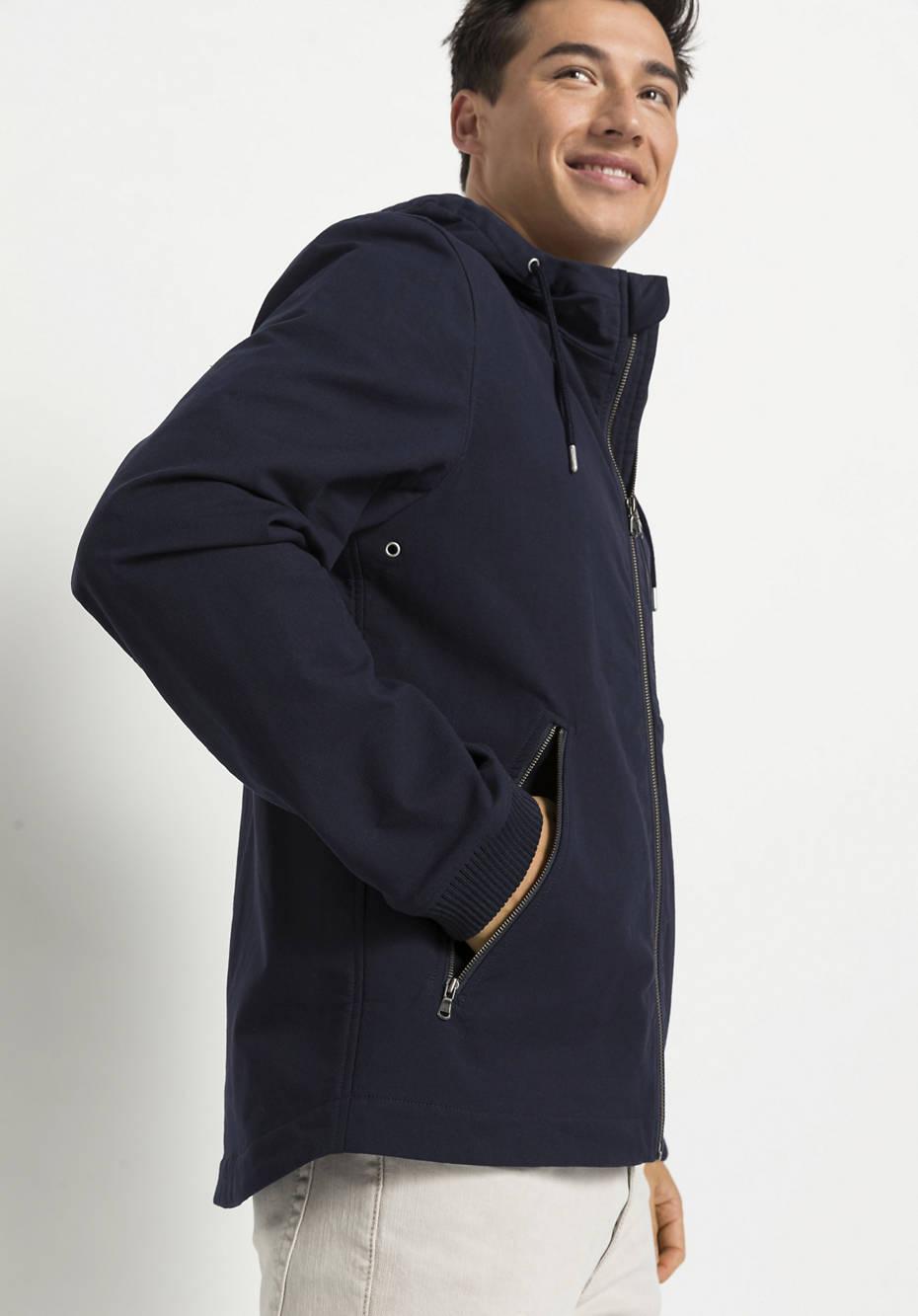 Softshell field jacket made of organic cotton
