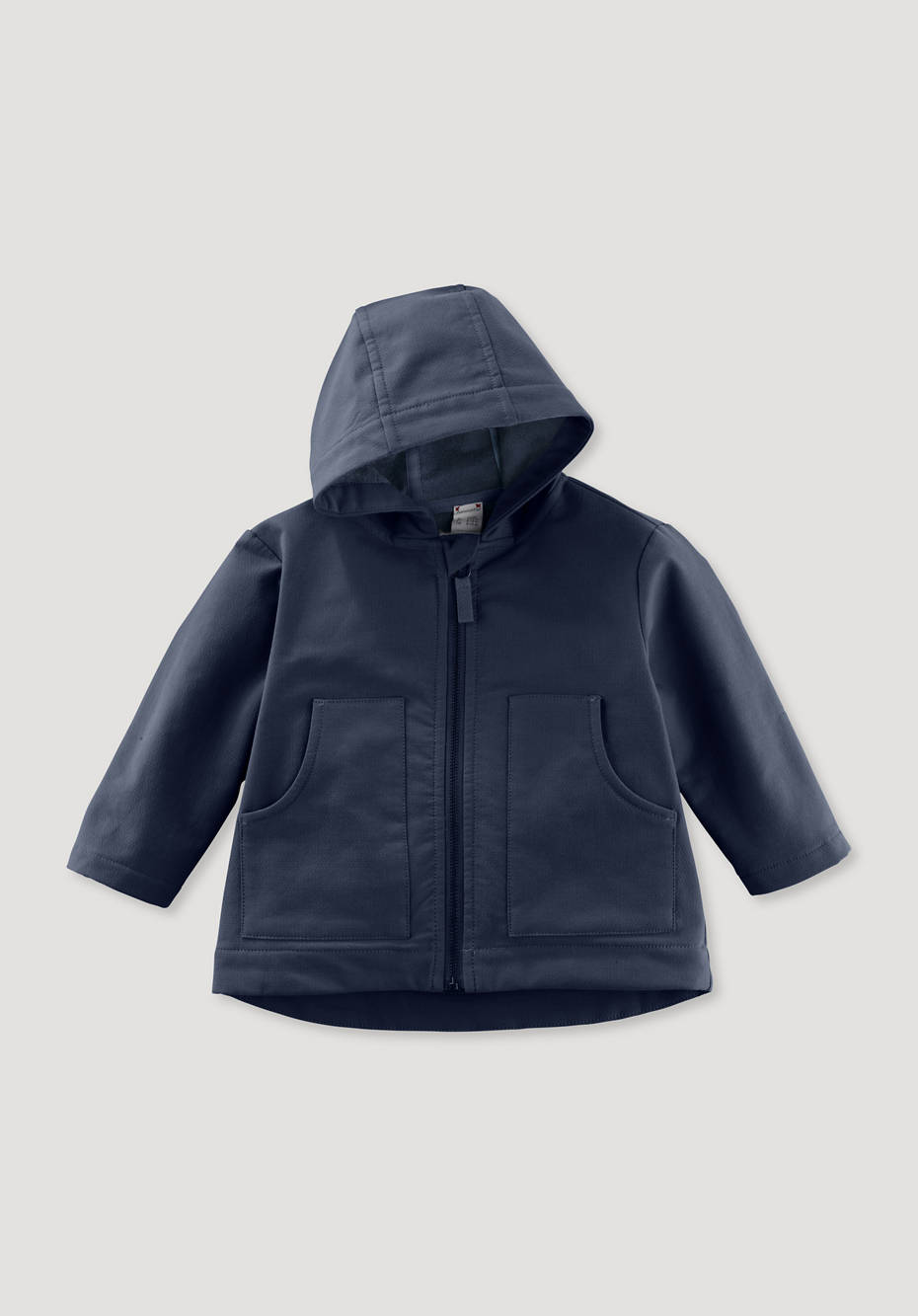 Softshell jacket made from pure organic cotton