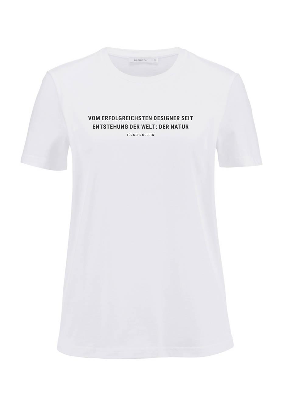 Statement Shirt aus reiner Bio-Baumwolle