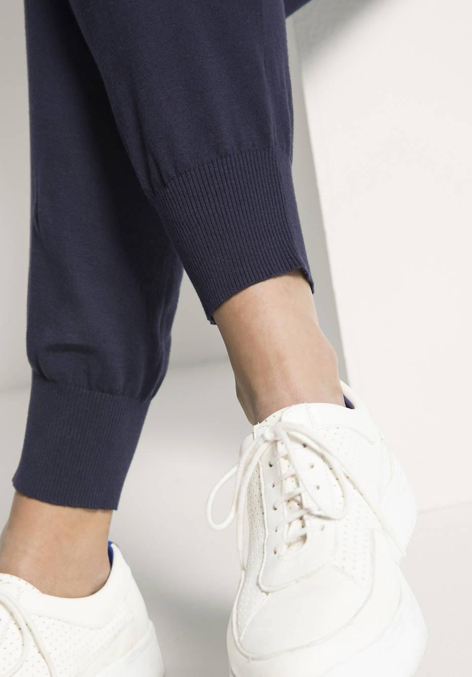 Strickhose aus reiner Bio-Baumwolle
