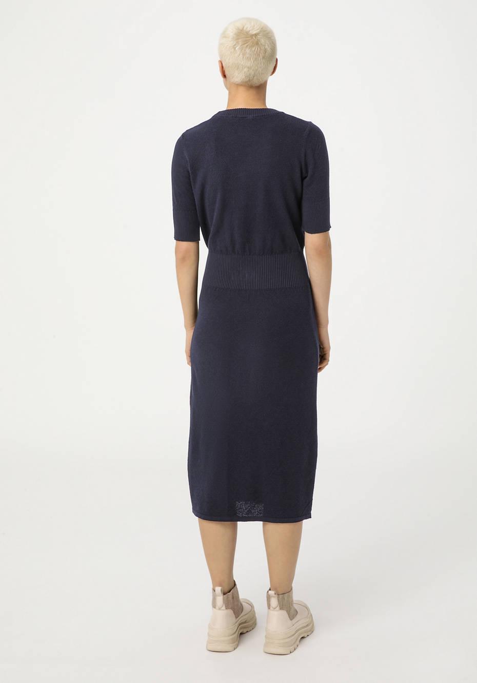 Strickkleid aus reiner Bio-Baumwolle