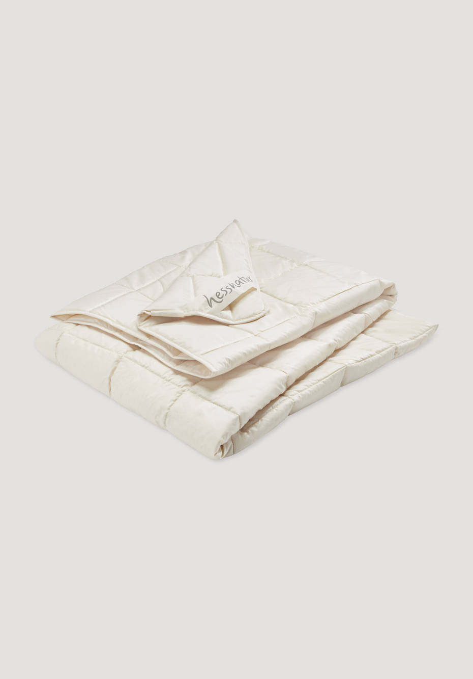 Summer blanket with pure organic new wool