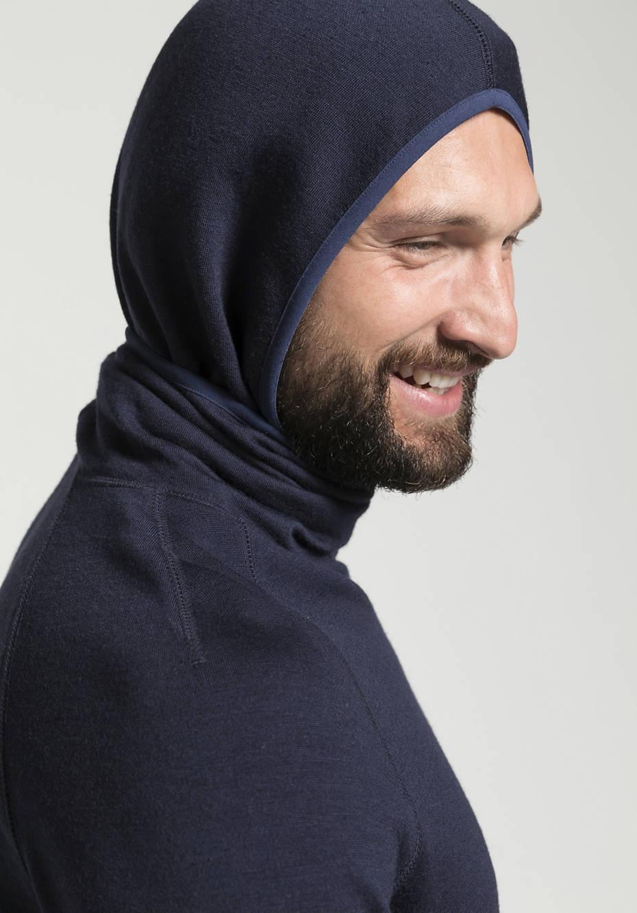 Sweat-Hoodie aus reiner Bio-Merinowolle