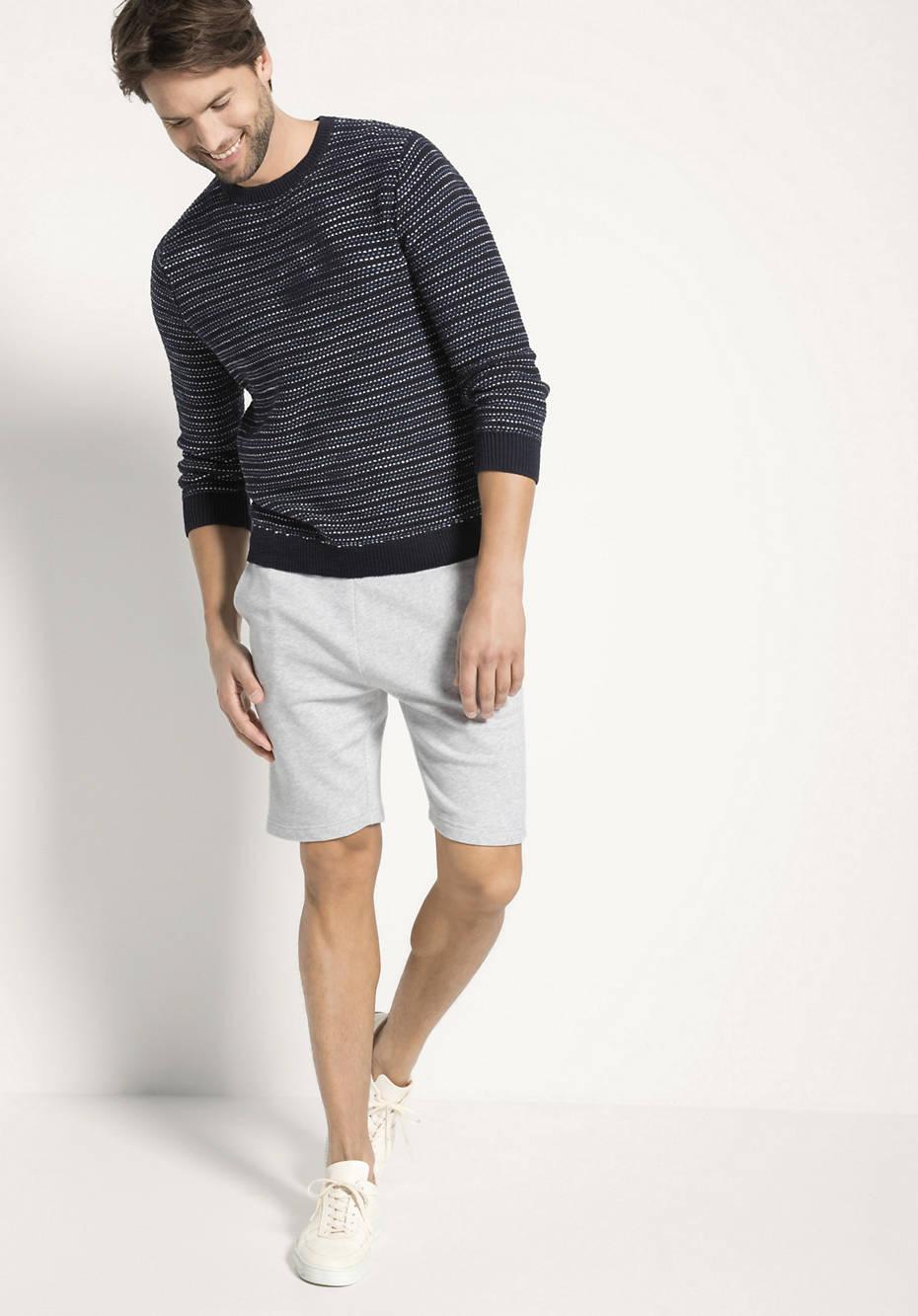 Sweat-Shorts aus reiner Bio-Baumwolle