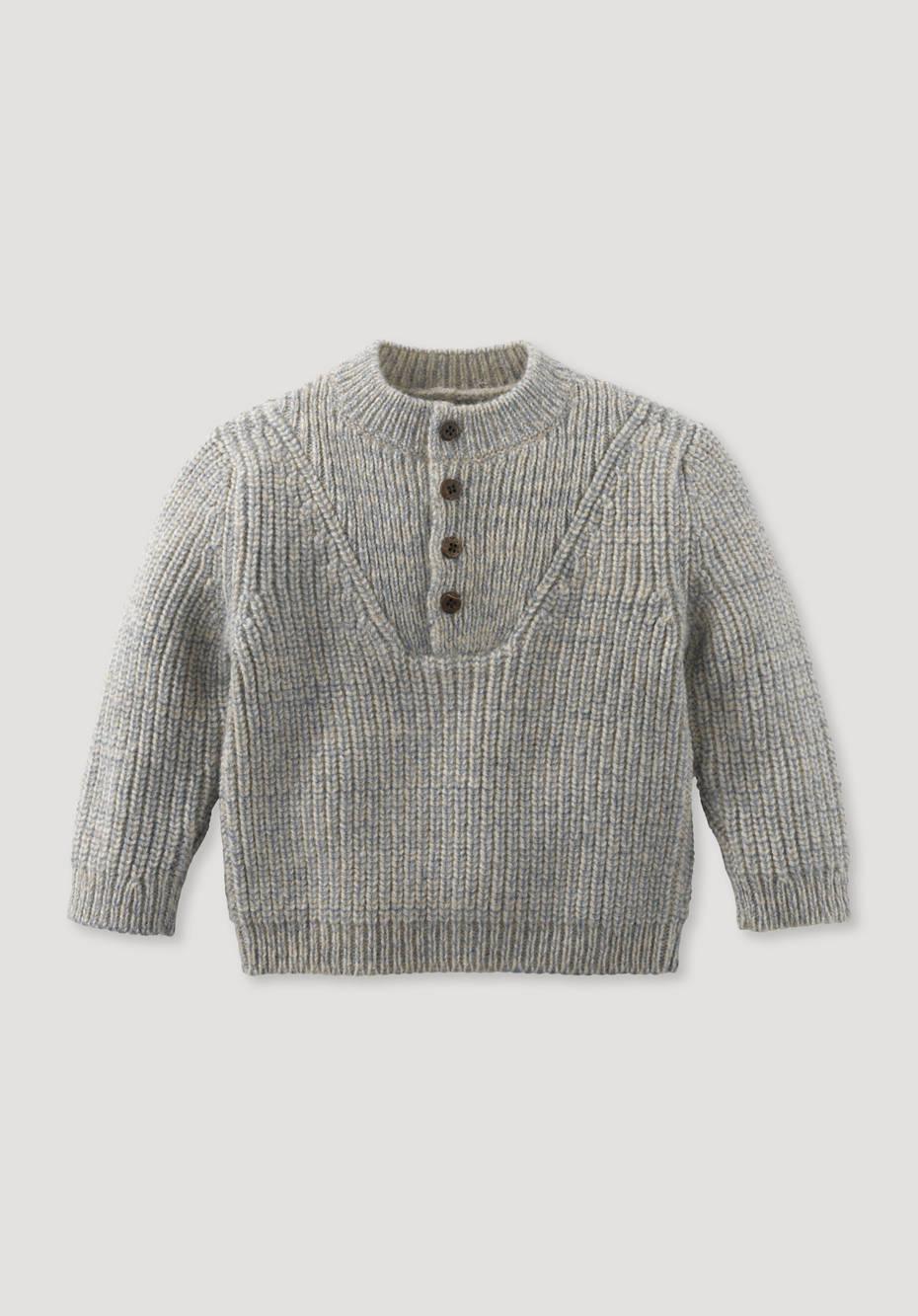Sweater made from pure organic merino wool