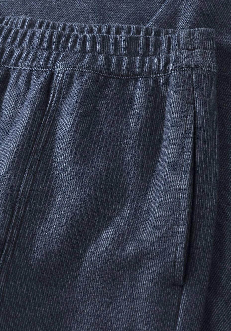 Sweathose Cropped aus reiner Bio-Baumwolle